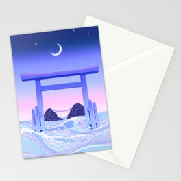 Floating World Stationery Cards