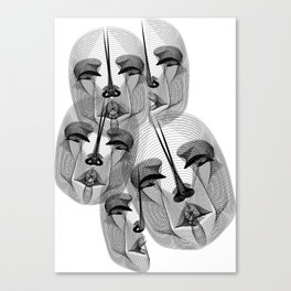 Voices of the River Styx Canvas Print