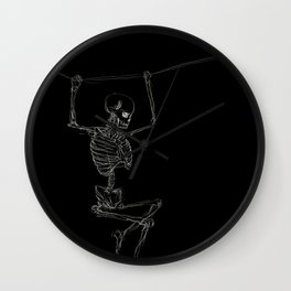 Attached to life Wall Clock