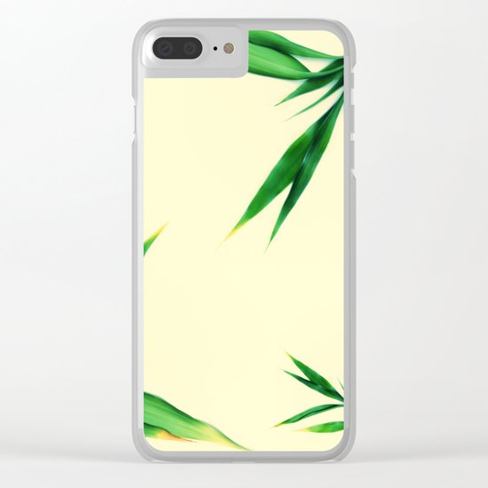 Bamboo leaves #1 #decor #art #society6 Clear iPhone Case