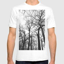 Cottonwood Forest B+W T-shirt
