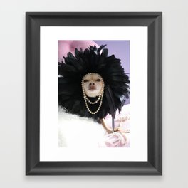 Chihuahua Vogue  Framed Art Print