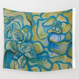 Bleeding Flowers Wall Tapestry