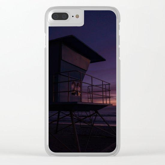California Sunset Clear iPhone Case
