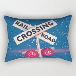 Baltimore Railroad travel poster Rectangular Pillow
