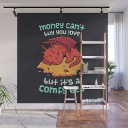 Comfy Bed Wall Mural
