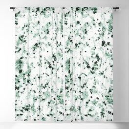 Green Terrazzo Blackout Curtain