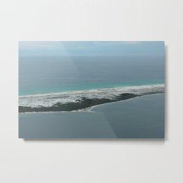 Barrier Island Metal Print