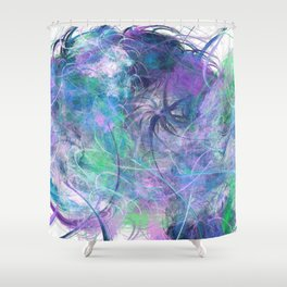 Blue Bay Hawaii Live Shower Curtain