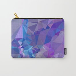 Abstract mosaic pattern Carry-All Pouch
