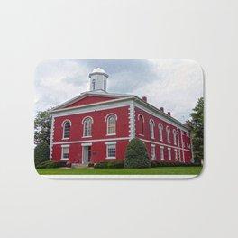 Iron County Courthouse in Ironton, Missouri Bath Mat