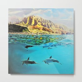 view of Kauai, HI Metal Print