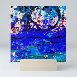 Seas Relief Mini Art Print