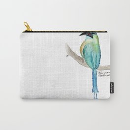 Blue crowned motmot Carry-All Pouch