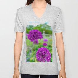 Purple Sensation Unisex V-Neck