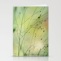 grass Stationery Cards featuring Grass by Lena Weiss