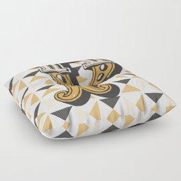 Letter P Floor Pillow