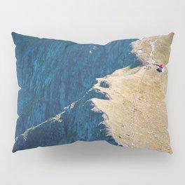 Yellow blue land Pillow Sham