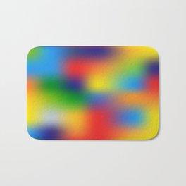 Abstract Colorful illustration Bath Mat