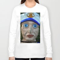 sailor Long Sleeve T-shirts featuring Sailor by Fine2art