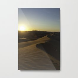 imperial sand dunes 3 Metal Print