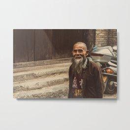 Villager Metal Print