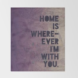 With You Throw Blanket