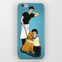 pushing daisies iPhone & iPod Skins featuring PUSHING DAISIES + HANNIBAL: That's Not Your Dog by Mandy Quesadilla