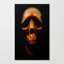 Bloody tears Canvas Print