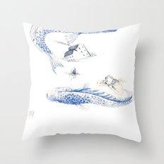 Alluvione | Flood Throw Pillow