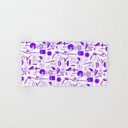 Buffy Symbology, Purple Hand & Bath Towel