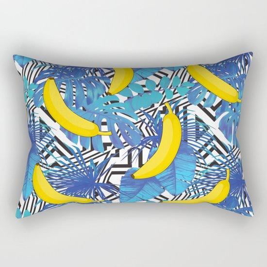 summer tropical Rectangular Pillow