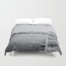 Withernsea of old? Duvet Cover