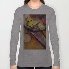 Abstract Forms Long Sleeve T-shirt