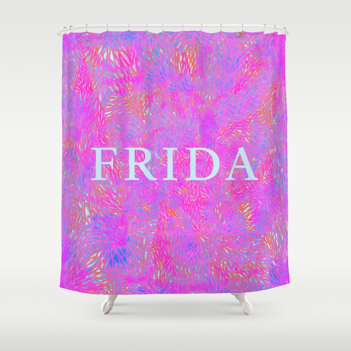 Frida 1 Shower Curtain