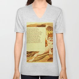 "From ""Night-Thoughts"" Unisex V-Neck"