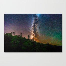 Northern Michigan Milky Way Canvas Print