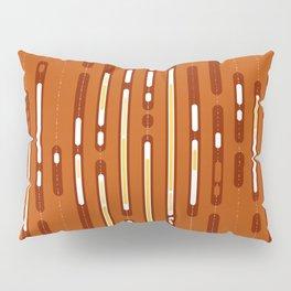 Sunset Dream – Orange / Yellow / Red Abstract Pillow Sham