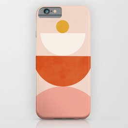 Abstraction_BALANCE_Minimalism_Art_009 iPhone Case