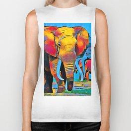 Elephant 3 Biker Tank