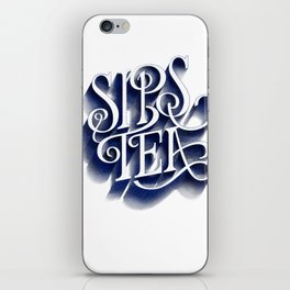 Sips Tea iPhone Skin