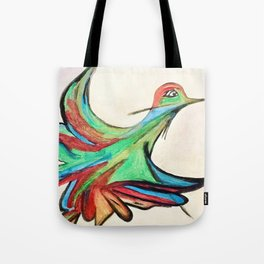 Aquarela bird Tote Bag