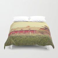 american beauty Duvet Covers featuring American Beauty Vol 18 by Farmhouse Chic