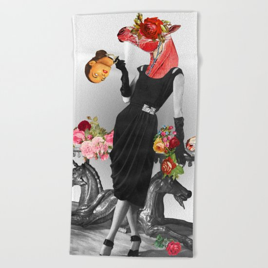 Shade that Suit Beach Towel