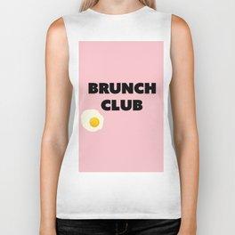 brunch club Biker Tank