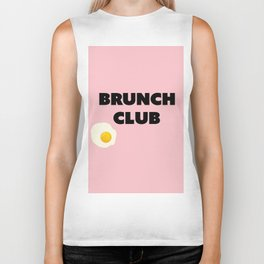 brunch club Biker Tank