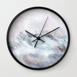 Northern Sunsets Wall Clock