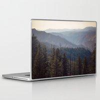 yosemite Laptop & iPad Skins featuring Yosemite Mountains  by Laura Ruth