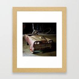 Barn Pedal Car Framed Art Print