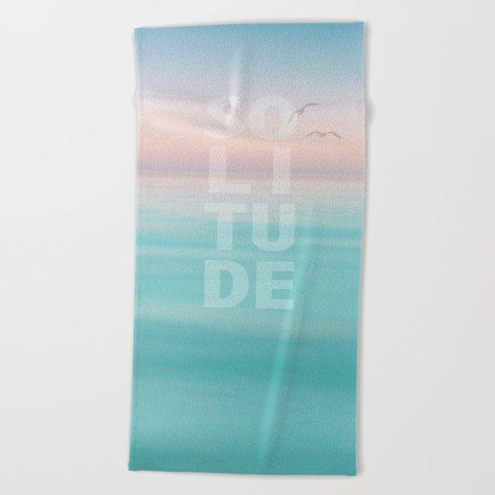 Solitude Beach Towel